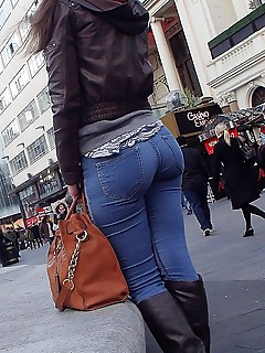 Hard cock in tight jeans