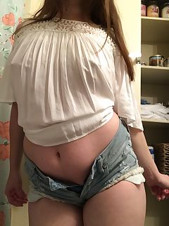 God knows! bbw in short shorts porn seems