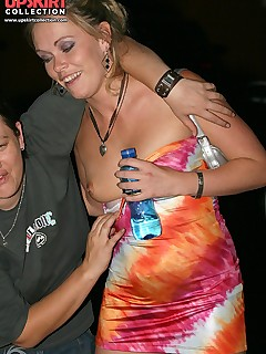 Mature party downblouse — img 4