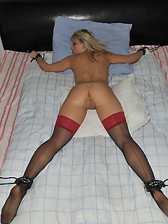 Amateur wife bondage group sex